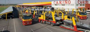 Transporte internacional de coches - Transportes Cariño