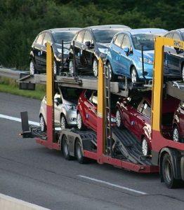 Empresas de transporte de vehículos internacional - Cariño