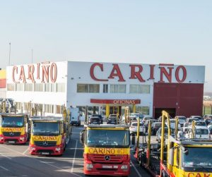 Empresa de transporte de vehículos España - Transportes Cariño