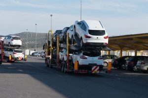 Empresa de transporte de automóviles - Transportes Cariño