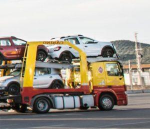 Traslado de vehículos - Cariño
